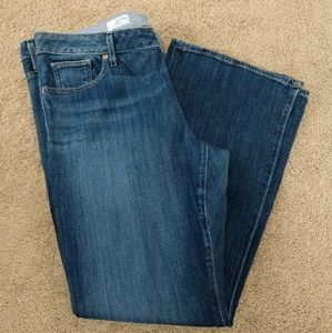 Gap Dark Wash Boot Cut Jeans size 16
